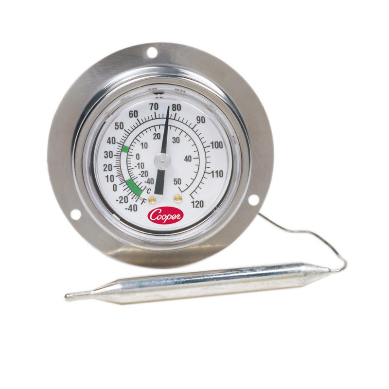 Back Flange Back Connect Panel Thermometer