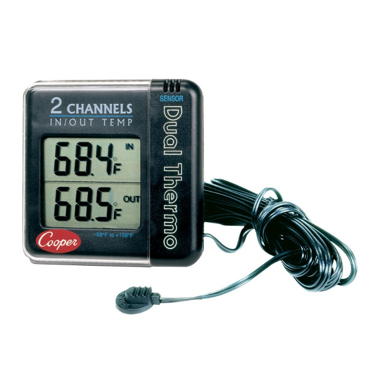 Digital with Remote Sensor Thermometer