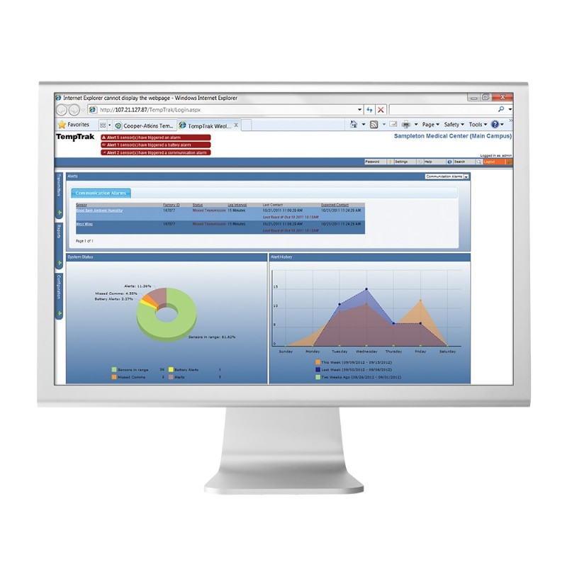 TempTrak® 5.0 Software
