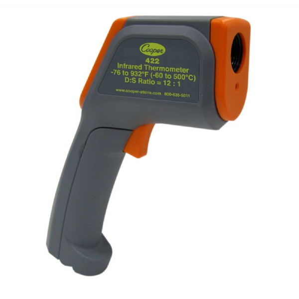 Infrared Gun-Style Thermometer with 8-Point Laser