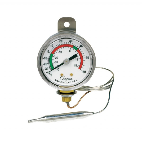"2"" Strap Hang Bottom Connect Panel Thermometer"