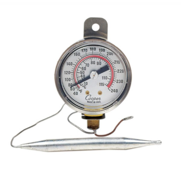 Remote Vapor Tension Panel Thermometer