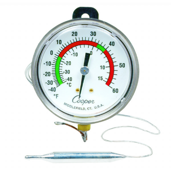 Strap Hang Bottom Connect Panel Thermometer
