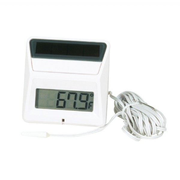 Square Solar Panel Thermometer